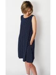 TULA - cotton mini dress with pockets