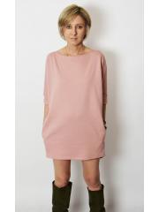 sukienka MOON - kolor BRUDNY RÓŻ