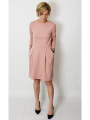 sukienka RITA - kolor BRUDNY RÓŻ