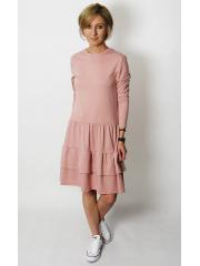 sukienka CINDY - kolor BRUDNY RÓŻ