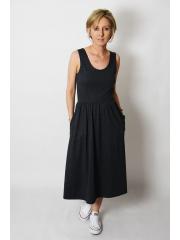 MEGAN - midi dress with straps