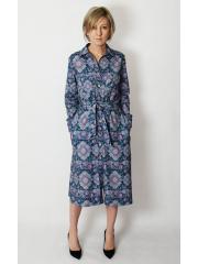 CAROLINE - unbuttoned dress with belt - limited