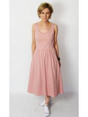 sukienka MEGAN - kolor BRUDNY RÓŻ