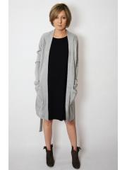 MADERA - ungebundener Pullover - grau