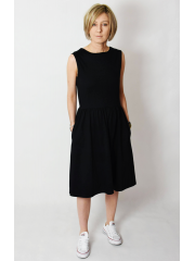 CLARICE - midi dress with buttons