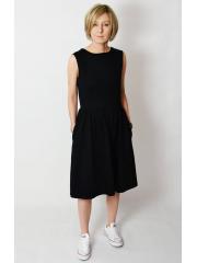 sukienka CLARICE - kolor CZARNY