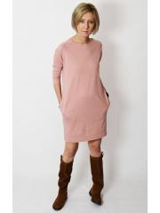 sukienka CARRIE -kolor BRUDNY RÓŻ