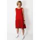 sukienka GINA - kolor CZERWONY