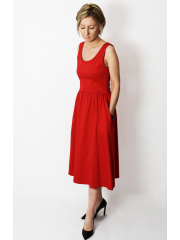sukienka MEGAN - kolor CZERWONY