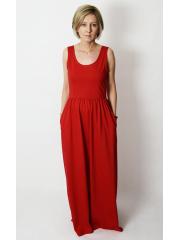 sukienka DONA - kolor CZERWONY