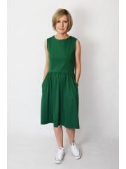 sukienka CLARICE - kolor ZIELONY