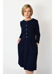 sukienka ALISON - kolor GRANATOWY