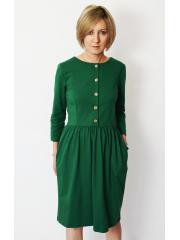 sukienka ALISON - kolor ZIELONY
