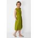 sukienka CLARICE -kolor OLIWKA