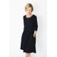TEXAS - cotton dress with decorative welt