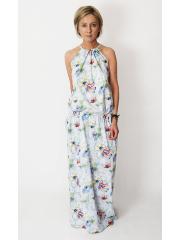 sukienka AMIRA - maki, kwiaty
