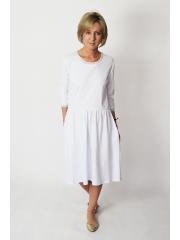 TEXAS - Baumwollkleid mit einem dekorativen Finish