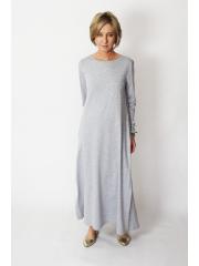 sukienka HIREM - kolor SZARY