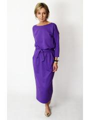 sukienka NINA - kolor FIOLETOWY