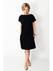 SPALLA - mini cotton dress