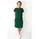 SPALLA - mini cotton dress - green