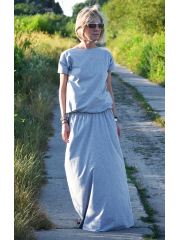 CLEO - long knitted dress