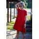 sukienka SMILE - kolor CZERWONY