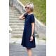 sukienka SMILE - kolor GRANATOWA