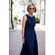 sukienka AUDREY - kolor GRANATOWY