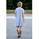 sukienka SMILE - kolor SZARY