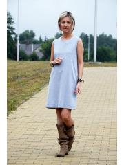 sukienka RACHEL - kolor SZARY