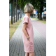 sukienka ALEGRA - kolor brudny róż