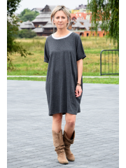 GWEN - Baumwoll-T-Shirt mit kurzen Ärmeln