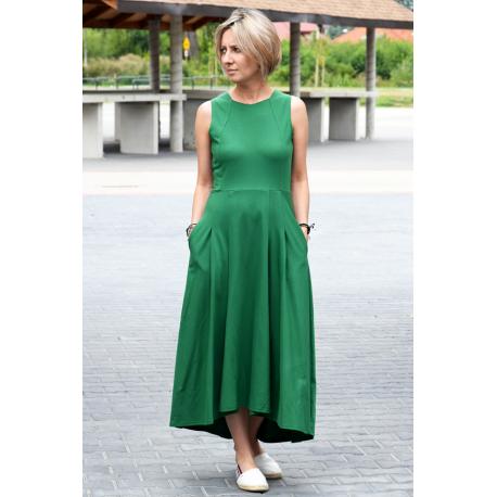 sukienka AUDREY - kolor ZIELONY