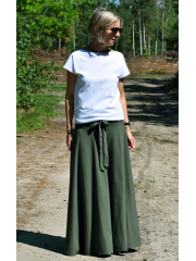 LULU - GESTRICKTE LONG SKIRT