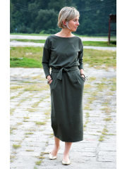 sukienka NINA - kolor KHAKI