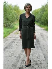 RAIA - Kleid mit Gürtel - khaki