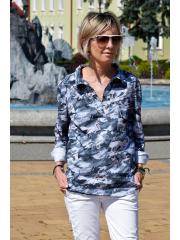 bluzka LARISA - kwiaty moro