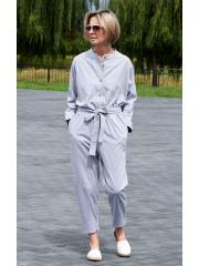 PABLO - Jumpsuit & Overall für Damen mit langen Ärmeln - Baumwolle