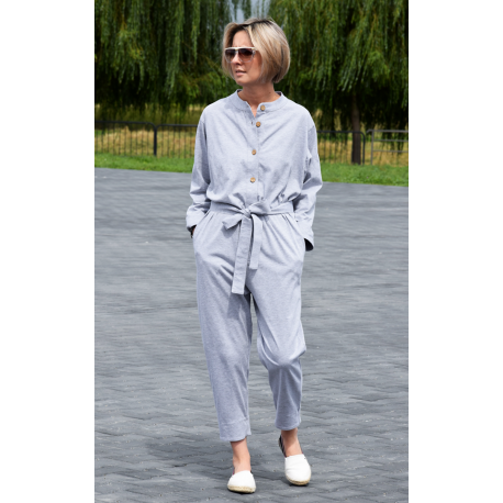 PABLO - cotton overall with long sleeves